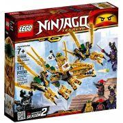 Lego 70666 Ninjago Legacy - Dragão Dourado – 171 peças