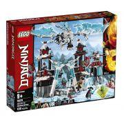 Lego 70678  Ninjago - Castelo do Imperador Renegado – 1218 peças