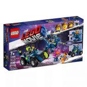 Lego 70826 Movie - O Filme 2 - O Veiculo Off-road Rex-treme Do Rex – 236 peças