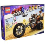 Lego 70834 Movie 2 - Triciclo Motorizado Heavy Metal Barba Ferro – 461 peças