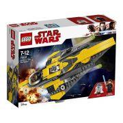Lego 75214 Star Wars - Anakin's Jedi Starfighter -247 peças