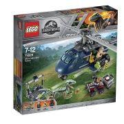 Lego 75928 Jurrasic World - Perseguição de Helicóptero de Blue - 397 peças