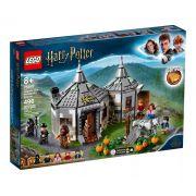 Lego 75947 Harry Potter - Cabana de Hagrid: O Resgate de Buckbeak Hipogrifo – 496 peças