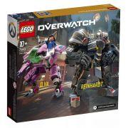 Lego 75973 Overwatch - D.VA E Reinhardt – 455 peças