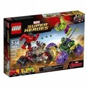Lego 76078 – Super Heroes – Hulk contra Hulk Vermelho - 375 peças
