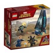 Lego 76101 Vingadores - Ataque a Escolta de Cargueiro - 124 peças