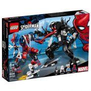 Lego 76115 Homem Aranha – Spider Man Aranha Robô Vs Venom – 604 peças