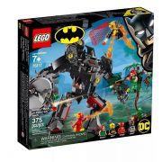 Lego 76117 Dc Batman Robô E Flash VS Hera Venenosa E Vagalume – 375 peças