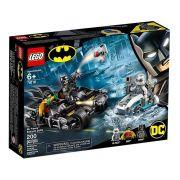 Lego 76118 Batman – BatMoto Batalha com Sr Frio Mr Freeze – 200 peças