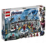 Lego 76125 Vingadores Ultimato – Salão das Armaduras Homem Ferro - 524 peças