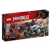 Lego 70639 Ninjago a Corrida de Rua de Serpente Jaguar 308 peças