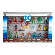 Nano Metal DC Comics Coleção Completa Pack Com 20 –DTC