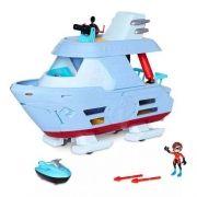 Os Incríveis 2 - Barco Hydroliner 43cm C/ Mulher Elástica Sunny