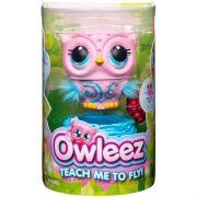 Owleez Coruja Interativa Rosa – Carregamento USB - Voa De Verdade – Sunny