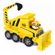 Patrulha Canina Ultimate Resgate Extremo - Rubble Bulldozer Veículo com Figura - Sunny