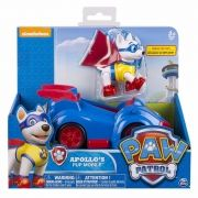 Patrulha Canina - Veiculo + Figura - Apollo's Pup Mobile- Sunny