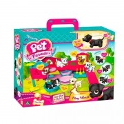 Pet Parade Playset Playworld cachorrinho  - Multikids
