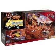 Pista Super Batida Demolição Carros 3 Disney – Mcqueen e Miss Fritter  -Mattel
