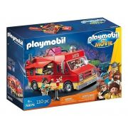 Playmobil 70075 O Filme – Furgão Food Truck do Del - Sunny