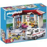 Playmobil City Life Centro Médico Com Ambulância e 4 bonecos - Sunny