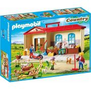 Playmobil Country – Maleta Playset Box Fazenda - Sunny