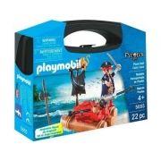 Playmobil Maleta Piratas  22 peças