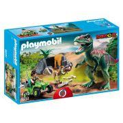 Playmobil - Rex Com Explorador E Quadriciclo - Sunny