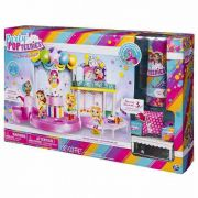 Playset Pista Baile Festa Poptastic Party Pop Teenies - Sunny