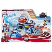 Playskool Transformers Rescue Bots Pista Corrida e Captura Flip Racer - Hasbro