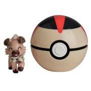Pokémon Clip N Go Pokébola Com Clip -1 Rockruff e Turno Ball Dtc