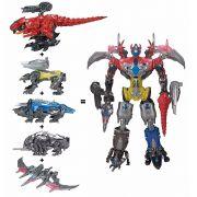 Power Rangers O Filme Megazord Gigante Colossal 70cm - 5 Zords+ 5 Rangers - Sunny