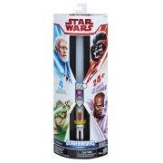 Star Wars h Solo Sabre de Luz Mestre 4 em 1 C/Som Luz 85cm - Hasbro