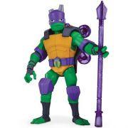 Tartarugas Ninja Ascensão – Donatello Luxo Gigante Articulado 28 cm Com 4 Acessorios - Sunny