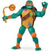 Tartarugas Ninja Ascensão – Michelangelo Luxo Gigante Articulado 27 cm Com 4 Acessorios - Sunny