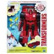 Transformers Indisguise Power Surge Sideswipe + MInicon C/Som - Hasbro