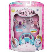 Twisty Petz – Surpresa Rara C/3 - Butterscotch Unicornio e Berrytales Guepardo - Série 1 – Sunny