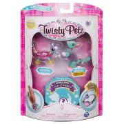 Twisty Petz – Surpresa Rara C/3 - Ratinho Pixie e Radiant Roo - Série 1 – Sunny