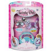 Twisty Petz – Surpresa Rara C/3 - Razzle Elefante E Pupsicle Cachorro - Série 1 – Sunny