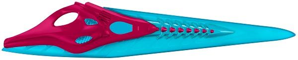 Power Rangers O Filme – Espada Rojo Som e Luz 60 cm – Sunny  - Doce Diversão