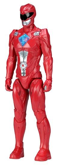 Power Rangers O Filme – Boneco  Ranger Red 30 cm  – Sunny  - Doce Diversão