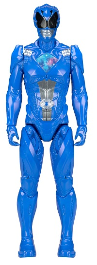 Power Rangers O Filme – Boneco  Ranger Blue 30 cm  – Sunny  - Doce Diversão