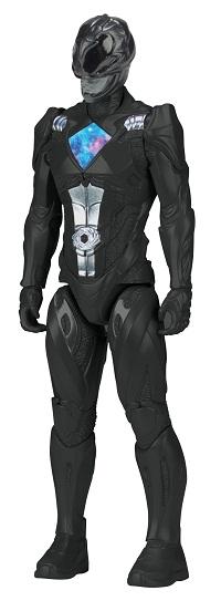 Power Rangers O Filme – Boneco  Ranger Black 30 cm  – Sunny  - Doce Diversão