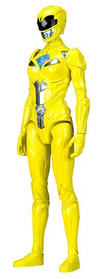 Power Rangers O Filme – Boneco  Ranger Yellow 30 cm  – Sunny  - Doce Diversão
