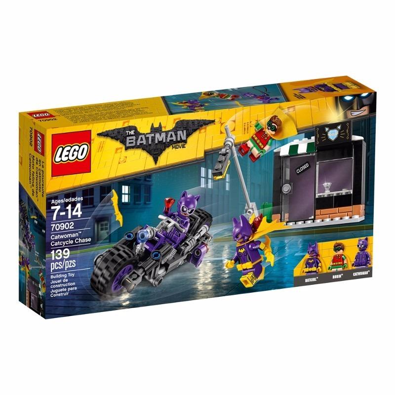 Lego 70902 – Batman o Filme – Perseguição Motocicleta da Mulher Gato  - Doce Diversão