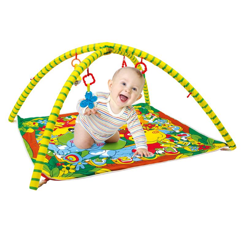 Tapete Ginásio Centro de Atividades Bebê Selva – Baby Style  - Doce Diversão
