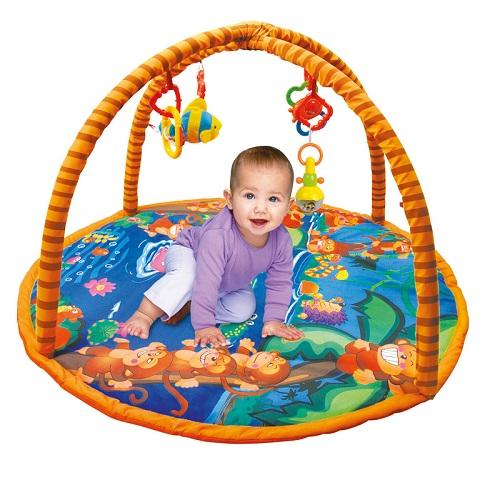 Tapete Ginásio Centro de Atividades Bebê Tigre – Baby Style  - Doce Diversão