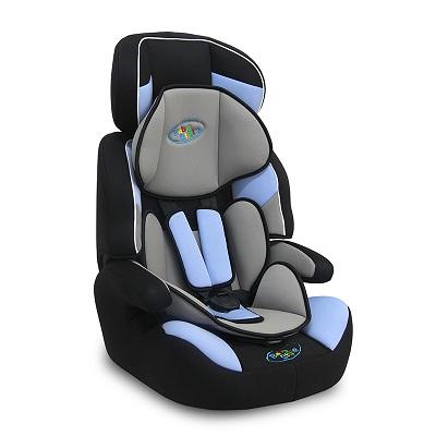 Cadeira Bebê Carro Automovel Cometa  – 9 a 36 Kg – Azul – Baby Style  - Doce Diversão