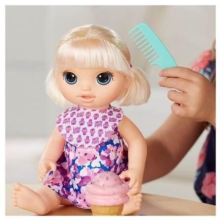 Boneca Baby Alive Sobremesa Mágica Loira- Hasbro  - Doce Diversão