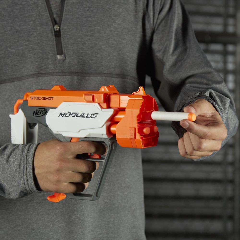 Lançador Nerf Modulus Blaster  Stockshot  - Hasbro  - Doce Diversão