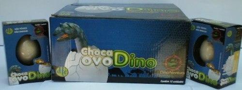Choca Ovo Dino - Display Com 12 Unidades  - Doce Diversão